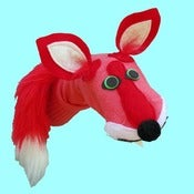 Image of Thistle™ Sockett® Designer Red Fox Sock Puppet