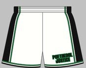 Image of PJ Basketball Long Shorts White 