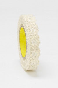 Image of 1 pack lace tape - 15mm x 2M - Beige - LT2003