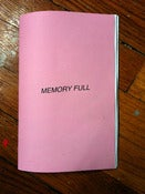 Image of MEMORY FULL (issue one)