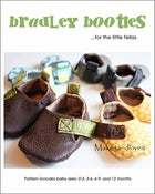 Image of Bradley Baby Booties - PDF sewing pattern