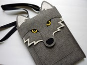 Image of Wolf - MacBook Pro 13 inch sleeve - MADE TO ORDER