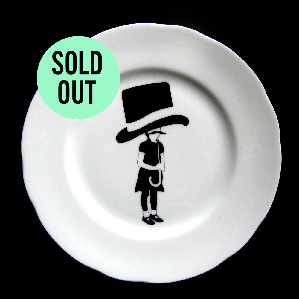 Image of TOP HAT UMBRELLA / Playground plate