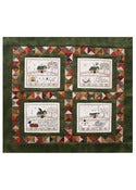 Image of Four Seasons Wallhanging patterns