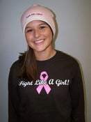 Image of Fight like A Girl Beanie Cap