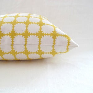Image of mums pillow . lemon