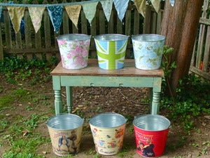 Image of Vintage-Inspired Buckets