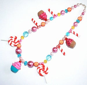 Lavish-Accessories — KATY PERRY COSTUME CUPCAKE LOLLIPOP SWEETS NECKLACE 20