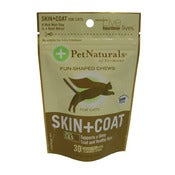 Image of Pet Naturals Skin & Coat Supplement Chews on UncommonPaws.com