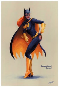 Image of Batgirl- Occupational Hazard Pin-Up