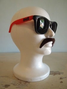 Image of RED 'RELAX' SUNGLASSES