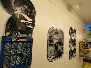 Image of 38th and 8th Street Perfomer Record Wall Art