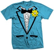 Image of Descender Light Blue TUX T-Shirt!