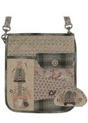 Image of Beehive Bag and Coin Purse pattern