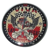 Image of Viva Las Vegas Rockabilly Weekend Clock
