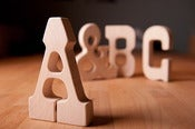 Image of A, B or C Wood Type Teether