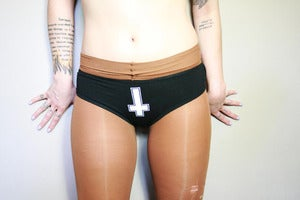 Image of INVERTED CROSS PANTYS
