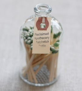 Image of Apothecary Match Bottle