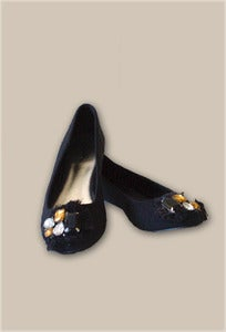 Image of Lexie Embellished Ballerina Shoes