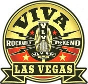 Image of Viva Las Vegas Rockabilly Weekend Sticker