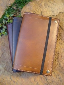 Image of Pocket Moleskine Cover (Walnut)