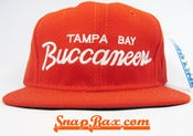 Image of VINTAGE TAMPA BAY BUCCANEERS SCRIPT SNAPBACK 2