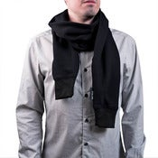 Image of Short scarf, black