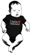 "Image of ""I hella love Oakland"" - One-Piece-Black"