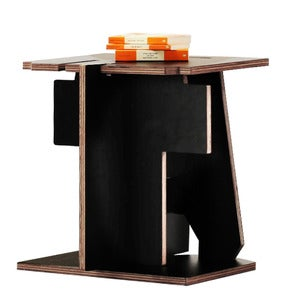 "Image of Alphabet Furniture - Table<br><span style=""font-weight:normal""><em>by Joel & Elmy</em></span>"
