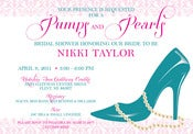 Image of Pumps and Pearls Invitation