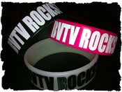 "Image of ""BVTV Rocks!"" Fat Bracelet (Many Colors!)"