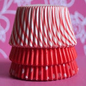 Image of Red Dots Cupcake Liner Set