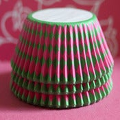 Image of Harlequin - Pink/Green