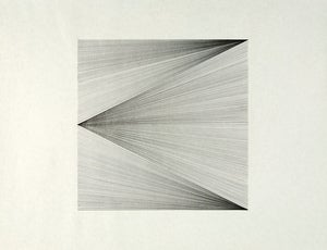 Image of untitled (line studies - 2 diagonals)