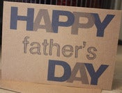 Image of Happy Father's Day note card