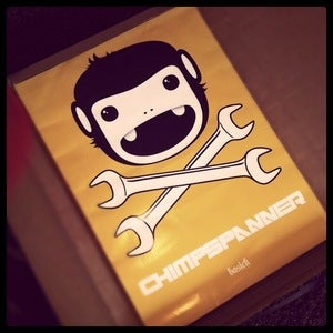 Image of CHIMP SPANNER - Ltd Edition A1 'POOKIE' Poster