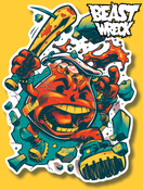 "Image of ""KROOL-AID"" Diecut sticker"