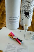 Image of Draw-Your-Own Lamp Shade Kit