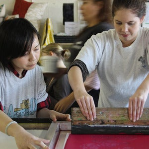 Image of LEARN TO SCREEN PRINT IN A DAY