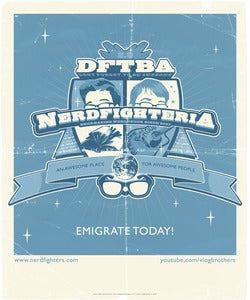 Image of Nerdfighteria Charity Poster