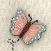 Image of Butterfly Button