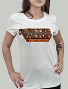 Image of Orange & Black Philly T-Shirt (Womens)