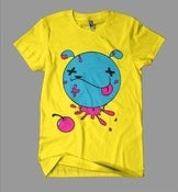 Image of Cherry Poppin' Shirt  Yellow