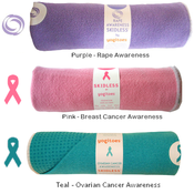 Image of Yogitoes - &quot;Awareness&quot; SKIDLESS Yoga Towels