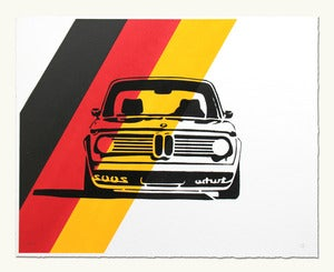 Image of BMW 2002 Turbo Headshot - German