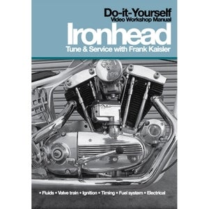 Image of Ironhead Sportster Tune &amp; Service with Frank Kaisler DVD Video Workshop Manual