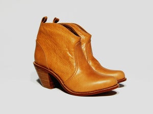 Image of THE ROAD boots (tan leather)