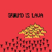 Image of Groundislava now on red cassette - only 50 - only from Burger Records
