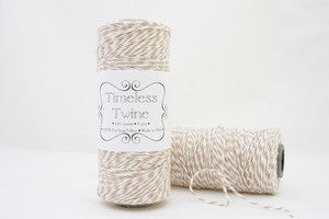 Image of Kraft Brown Bakers Twine ~ {Light Brown, Khaki, Flax Bakers Twine}