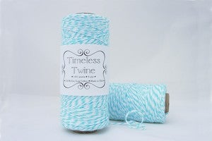 Image of Aqua Blue TIMELESS TWINE&#8482;